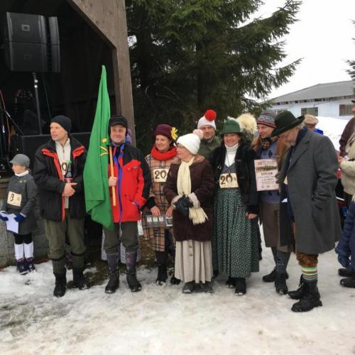 historické lyže 2019