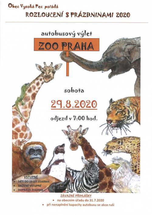 Plakát ZOO Praha 2020