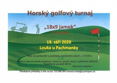 lPlakát - golf