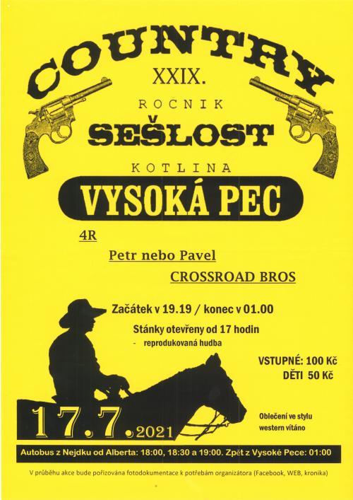 Country 2021- plakát